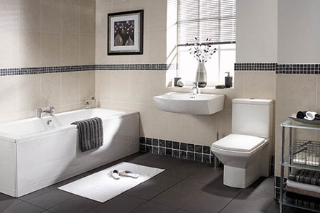 A bathroom from Lenzie Plumbing