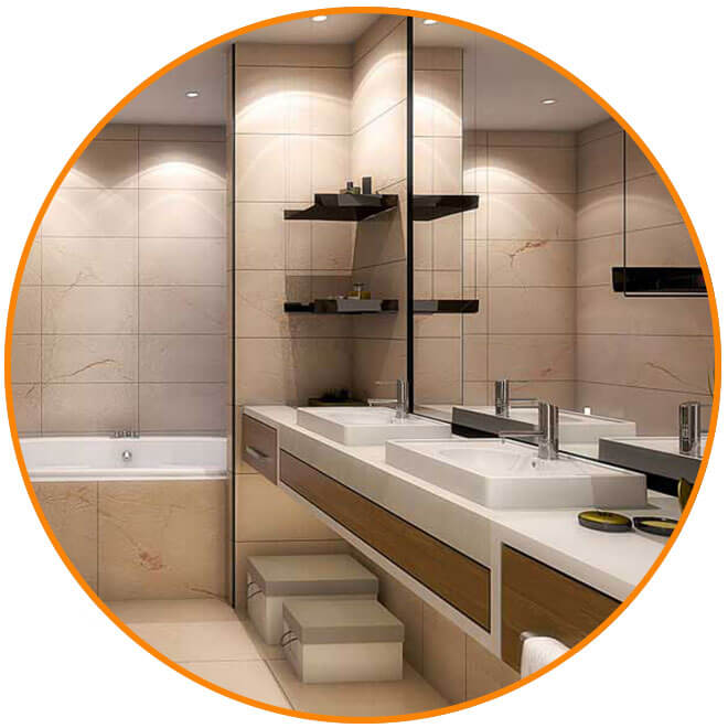 Bathroom design and Install